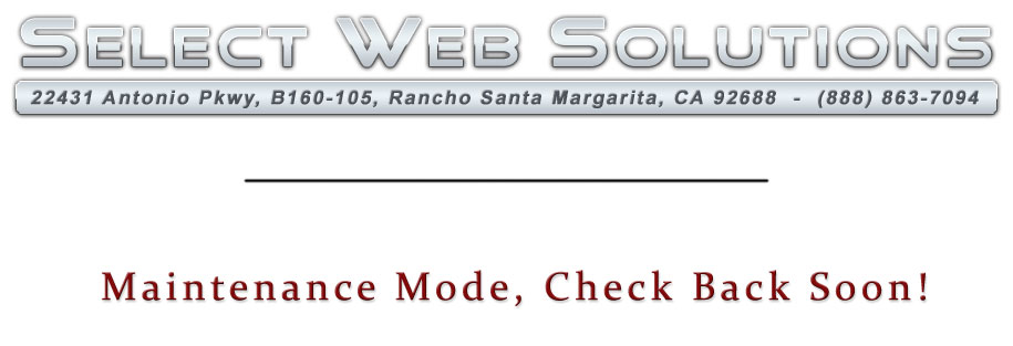 Select Web Solutions, LLC - Website Design, website Development & Maintenance